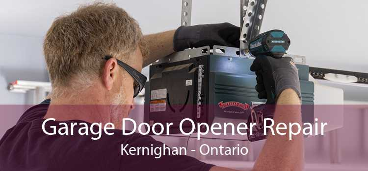 Garage Door Opener Repair Kernighan - Ontario
