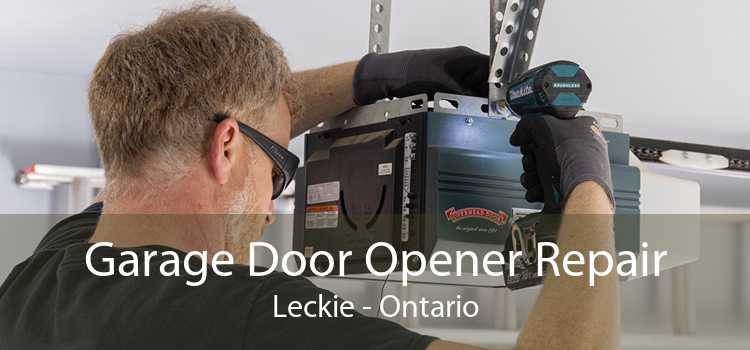 Garage Door Opener Repair Leckie - Ontario
