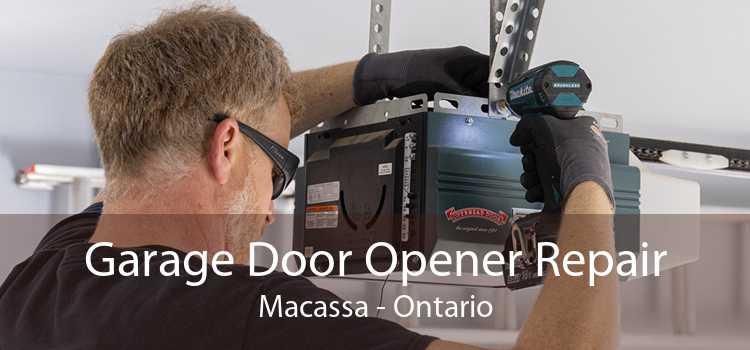 Garage Door Opener Repair Macassa - Ontario