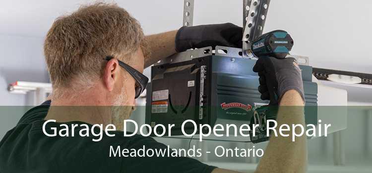 Garage Door Opener Repair Meadowlands - Ontario