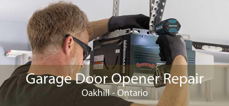 Garage Door Opener Repair Oakhill - Ontario