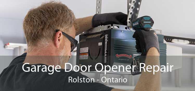Garage Door Opener Repair Rolston - Ontario
