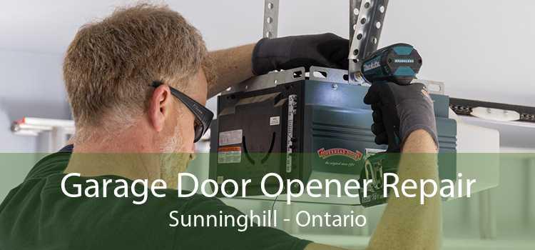 Garage Door Opener Repair Sunninghill - Ontario