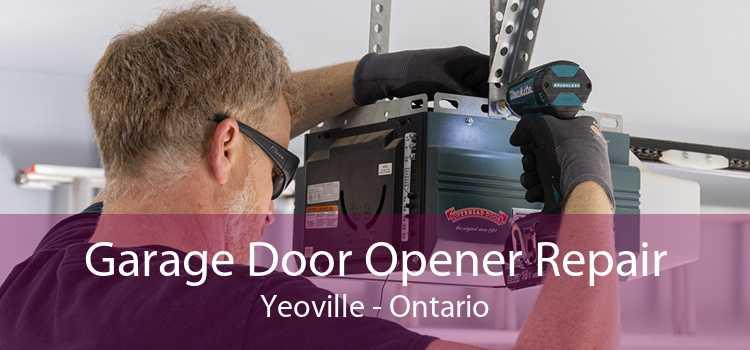 Garage Door Opener Repair Yeoville - Ontario