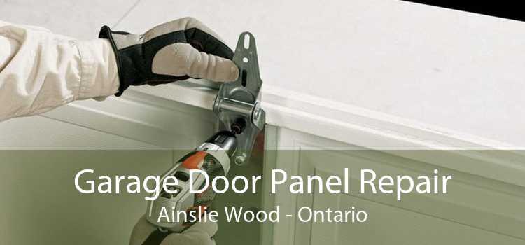 Garage Door Panel Repair Ainslie Wood - Ontario