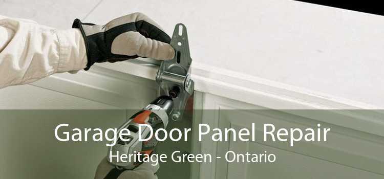 Garage Door Panel Repair Heritage Green - Ontario