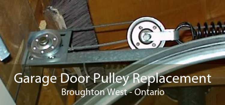 Garage Door Pulley Replacement Broughton West - Ontario