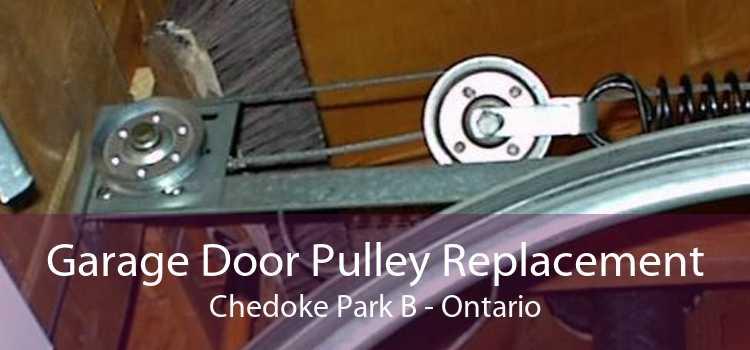Garage Door Pulley Replacement Chedoke Park B - Ontario