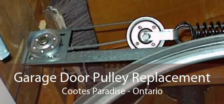 Garage Door Pulley Replacement Cootes Paradise - Ontario