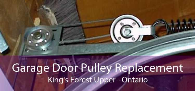 Garage Door Pulley Replacement King's Forest Upper - Ontario