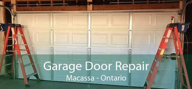 Garage Door Repair Macassa - Ontario