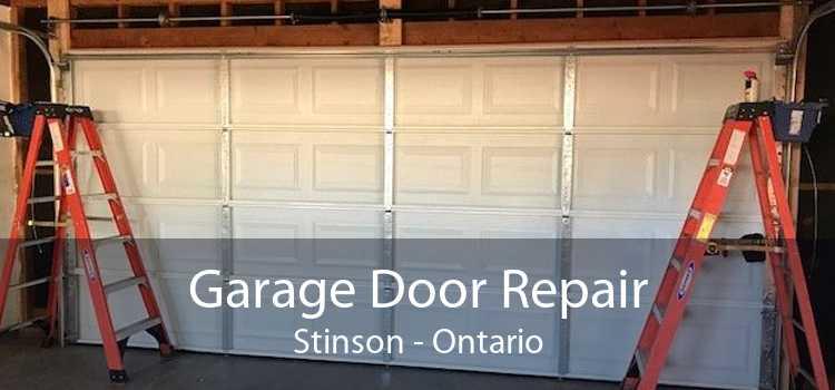 Garage Door Repair Stinson - Ontario