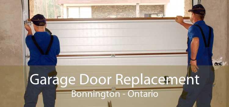 Garage Door Replacement Bonnington - Ontario